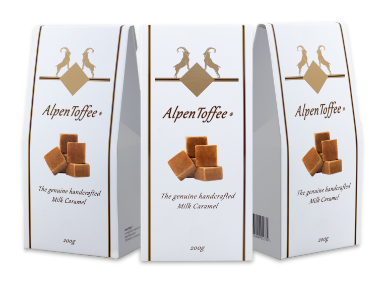 AlpenToffee Packaging all sides