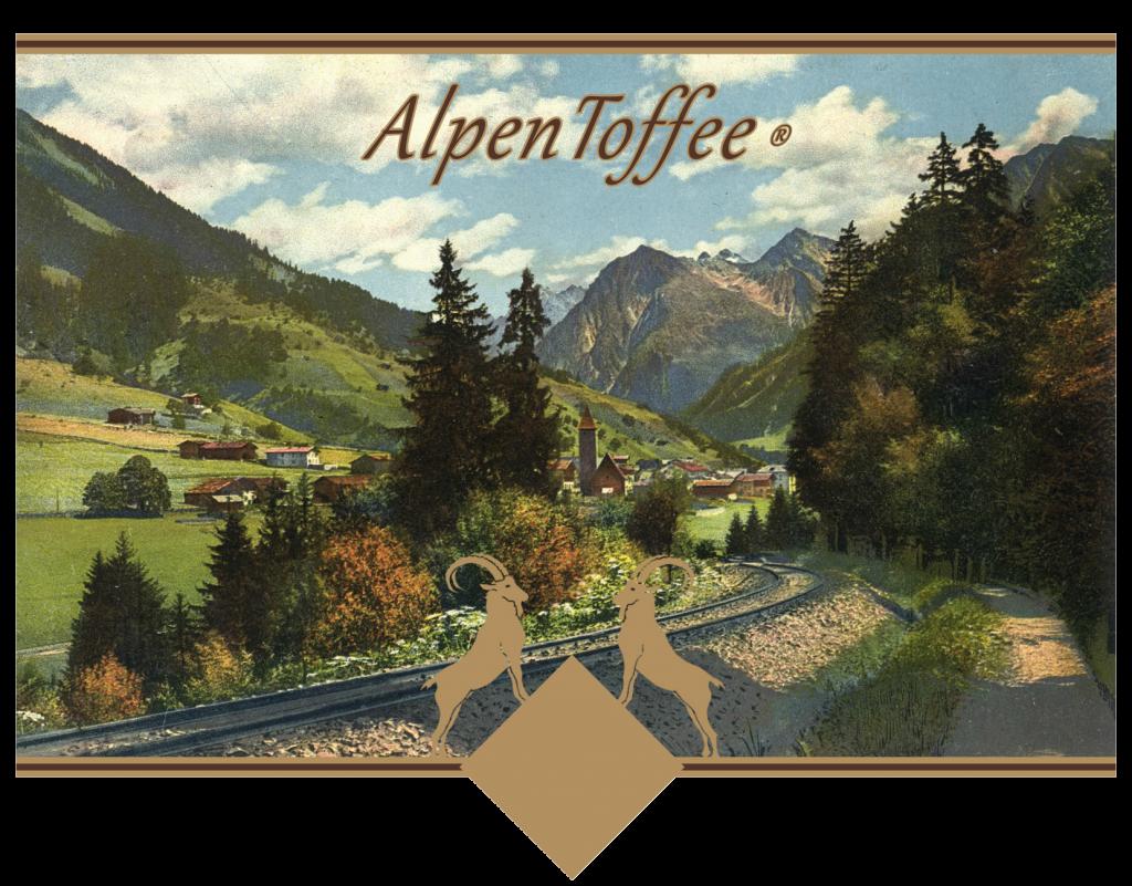 AlpenToffee postcard